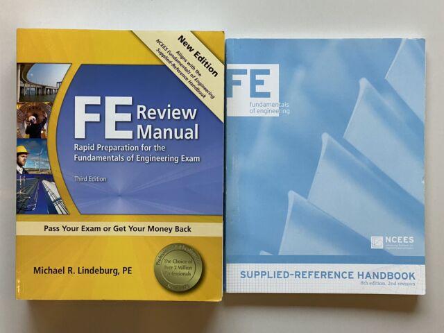 Fe Review Manual Third Edition Michael Lindeburg Exam Manual Guide