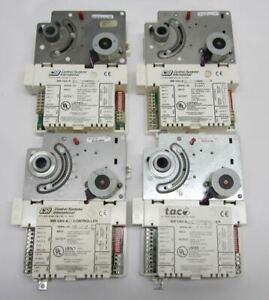Lot of 4 CSI TAC Schneider MR-VAV-AXC Inlet Valve Controller MN-FLO-701
