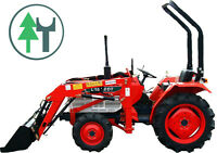 Kleintraktor Allrad Traktor Kubota L1802DT Frontlader neu lackiert Schlepper