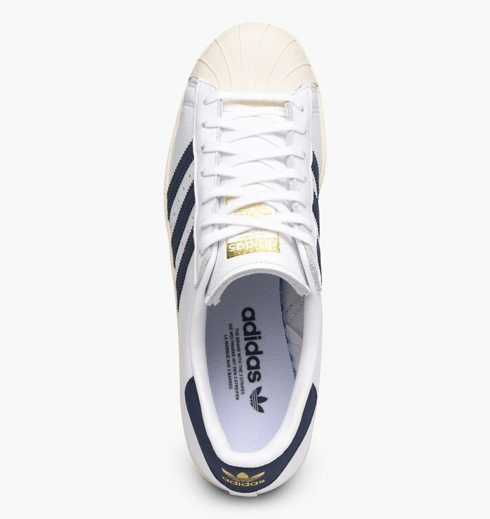 ADIDAS SUPERSTAR 80S  Blau  / Weiß  Blau BZ0145  UK 9, 11 3072f9