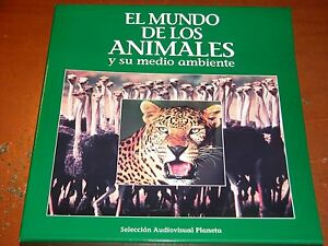 ALBUM EL MUNDO DE LOS ANIMALES EN LASER DISC.