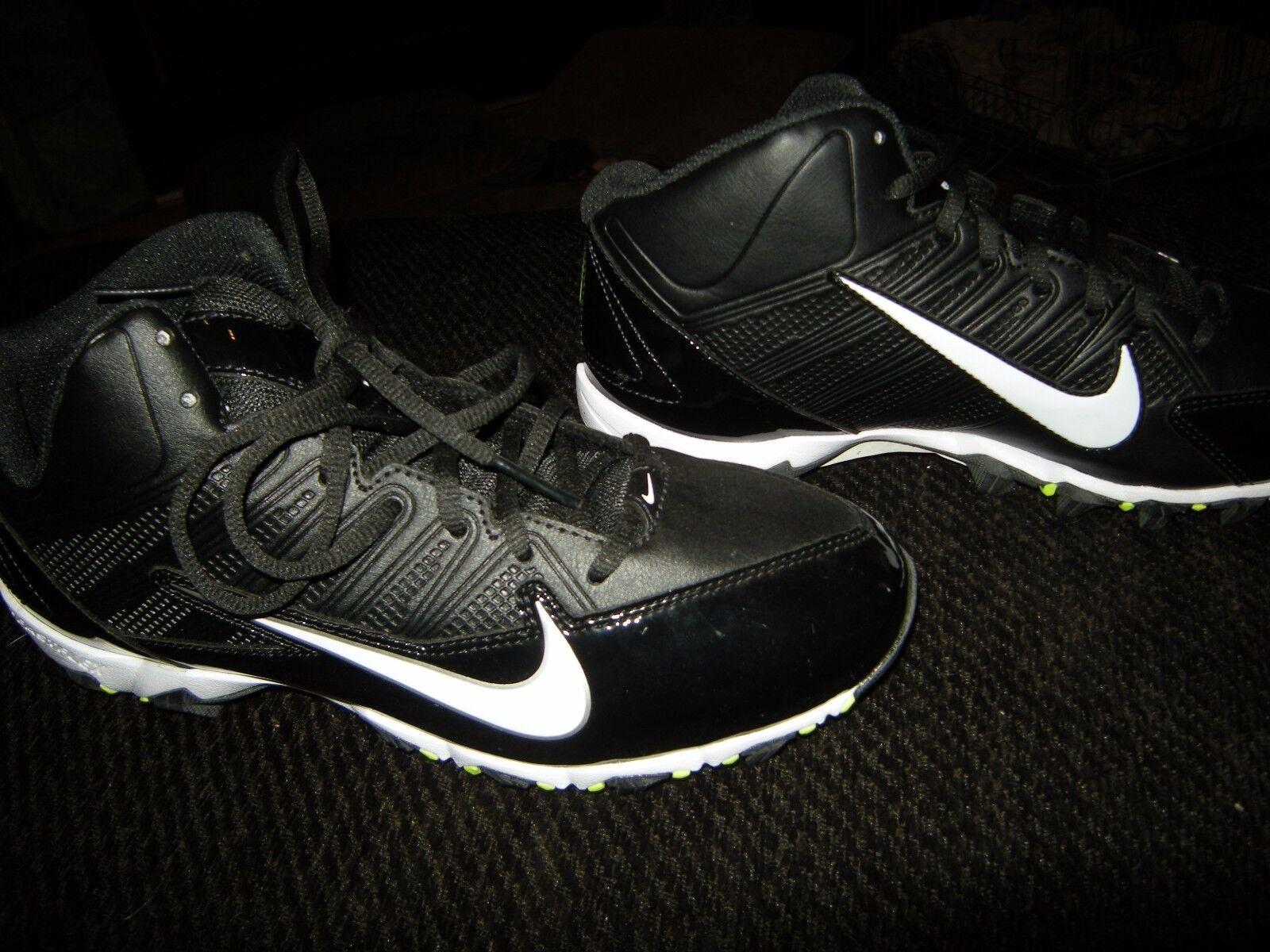 innovative design 3bcdb a7996 Brand New Hombre Negro Negro Negro   Amarillo Nike Alpha Pro 3   4 d  Football cleats, comodo precio de temporada corta, beneficios de descuentos  3062fe