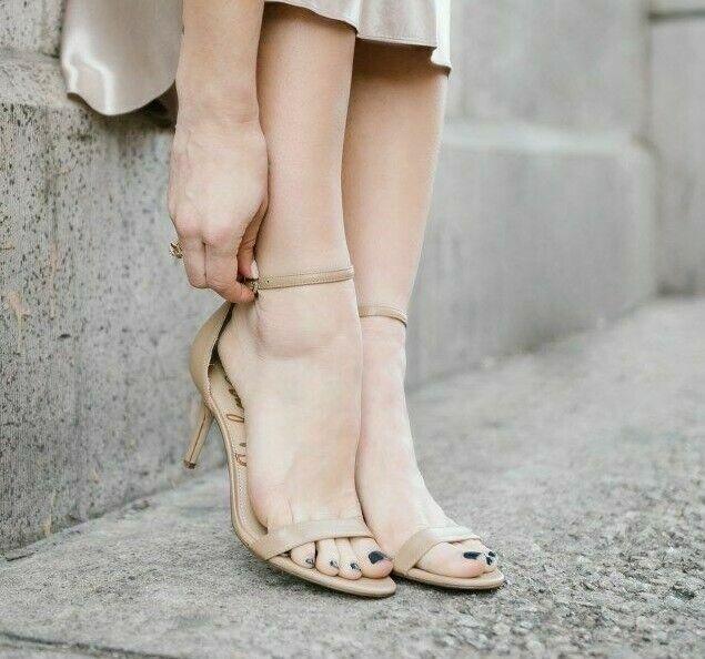 Sam Edelman Womens Patti Heeled Sandal