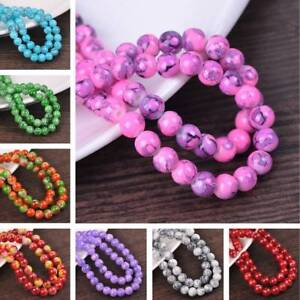 Wholesale-Lot-8mm-10mm-12mm-Round-Spacer-Glass-Loose-Beads-DIY-Jewelry-Findings