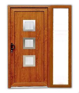 haust r atf haust r modell maja in golden oak mit 1 seitenteil pvc ebay. Black Bedroom Furniture Sets. Home Design Ideas