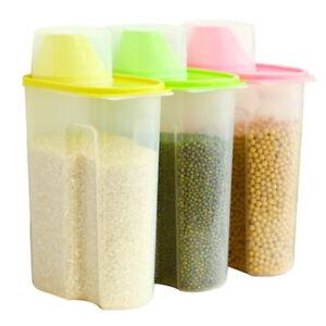 alimentaire-Cuisine-Boite-de-rangement-Recipient-Grain-Pain-Riz-cereale-gardien