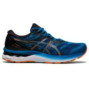 ASICS GEL NIMBUS 23 Scarpe Running Uomo Neutral REBORN BLUE BLACK 1011B004 400