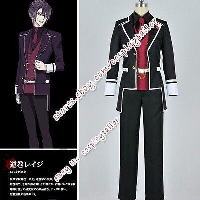 Diabolik Lovers Reiji Sakamaki Cosplay Boy Uniform Costume Party Suit Clothes