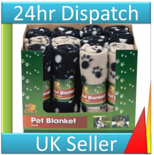 2 X Polar Cachorro De Perro Gato Gatito Mascota Ropa De Cama bed Manta Lavable a máquina 60x50cm