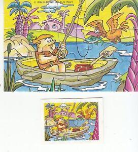 KINDER PUZZLE 1994 BARNEY FLINTSTONES ANTENATI - Italia - KINDER PUZZLE 1994 BARNEY FLINTSTONES ANTENATI - Italia