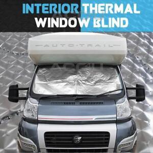 Summit-Wohnmobil-Wohnmobil-Inneren-Thermischen-Windschutzscheibe-Fensterrollo