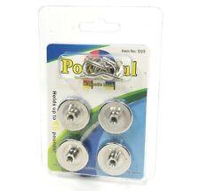 Set Of 4 Powerful Neodymium Iron Boron Magnetic Magnet Hooks 1 Round 60lb