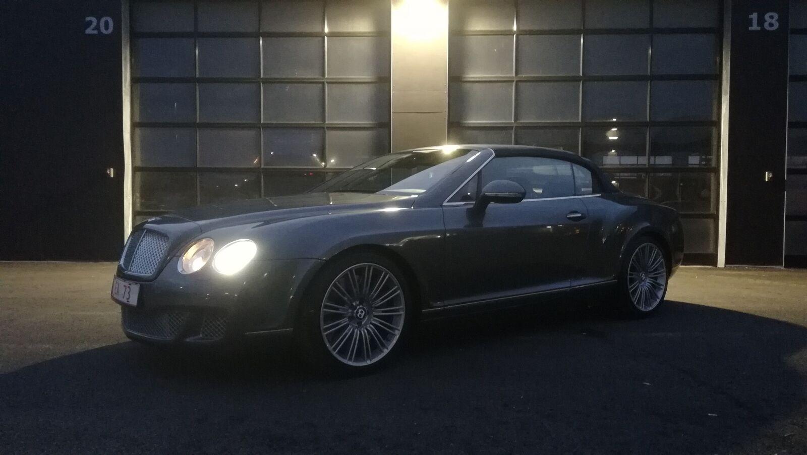 Bentley Continental GTC 6,0 Speed aut. 2d