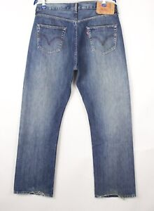 Levi's Strauss & Co Hommes 501 Jeans Jambe Droite Taille W36 L32 BDZ714