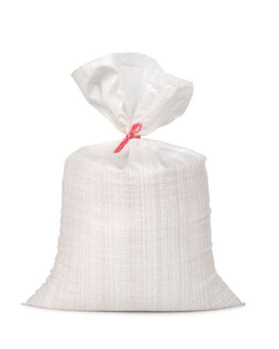 0,01€//l 125 Stk PP Gewebesack 50 x 80 cm 75g weiß 25kg 50 Liter Sandsack