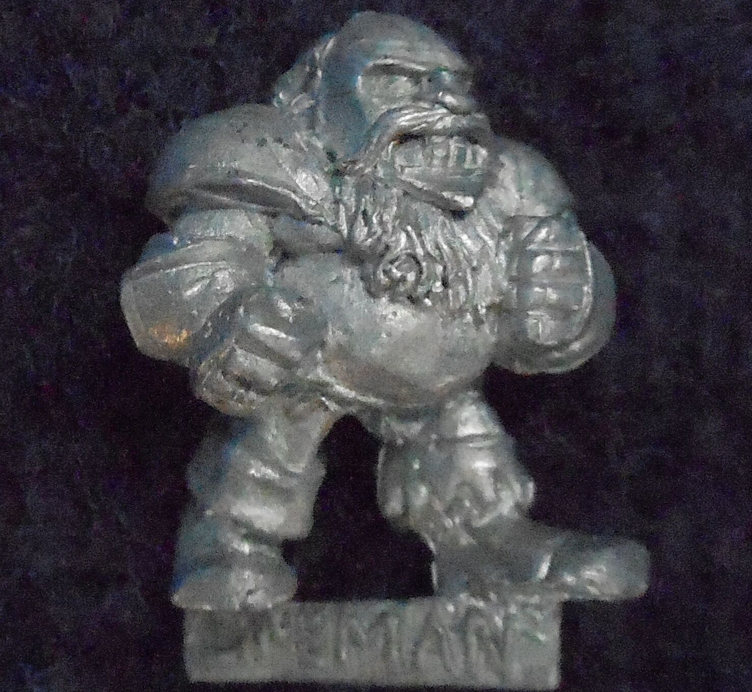 1989 Chaos Dwarf Bloodbowl 2nd Edition Lineman Citadel Fantasy Football Linesman