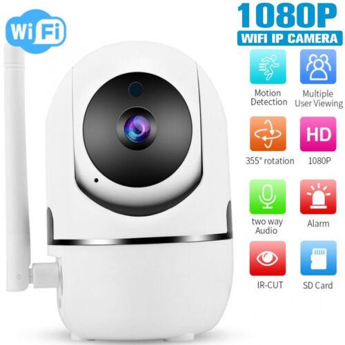 1080P 2.0MP WiFi PTZ CCTV IP Camera 2-way Audio TF Card Cloud Storage H.264 C3W0