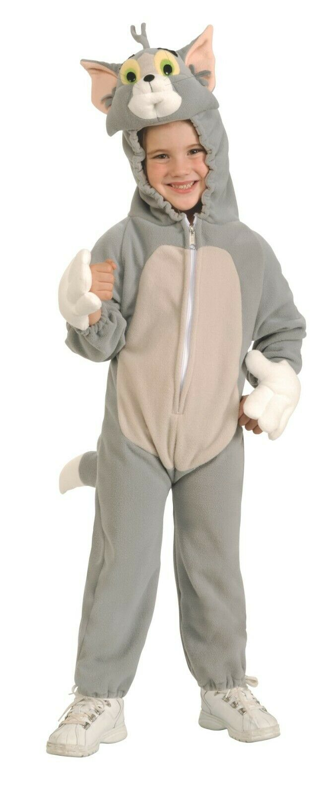 Rubie's DELUXE Tom Cat Jumpsuit Fancy Dress Costumes Tom & Jerry 3-4 YEARS