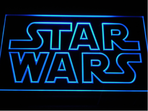 New custom star wars led neon light signs bar man cave 7 colors to image is loading new custom star wars led neon light signs aloadofball Image collections