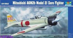 Trumpeter-02405-1-24-Mitsubishi-A6M2b-Model-2I-Zero-Fighter-hot