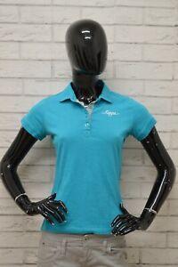 Polo-KAPPA-Donna-taglia-SIze-XS-Maglia-Maglietta-Camicia-Shirt-Manica-Corta-Blu