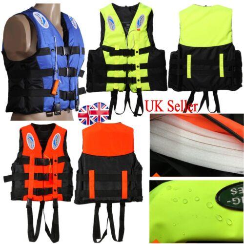 UK Adult Kid Life Jacket Safely Vest Aid Foam Sport Swimming Boating Sailing FF