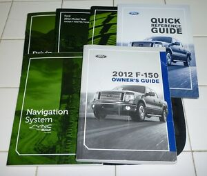 ford    owners manual set  wcase