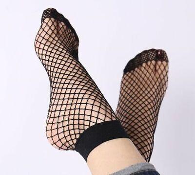 Adattabile Moda Donna Nero Rete Calze- Buono Per L'Energia E La Milza