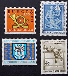 Austria-sello-Yvert-y-Tellier-n-1244-a-1247-N-stamp-Austria-cyn5