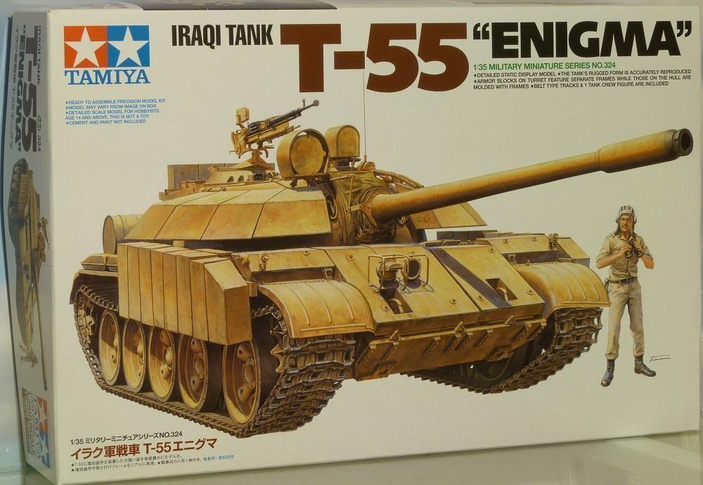 Tamiya 1 35 scale Gulf War T-55 Enigma Iraqi Tank model kit