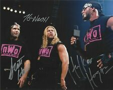 HULK HOGAN /KEVIN NASH /SCOTT HALL WWE WWF Autographed Signed 8x10 Photo REPRINT