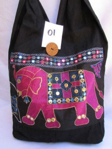 Sacoche Femme En Tissu Rouge Mode Bandoulière Noir Grand Éléphant Violet xwUqgSw