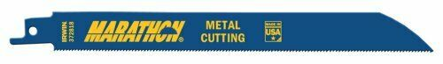 IRWIN Tools Reciprocating Saw Blade Metal-Cutting 18 TPI 25 Pack 8-inch