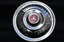 """Vespa VLB Vbb Gl Px Vbc GS de 8 """" 10"""" de acero inoxidable rueda de repuesto cubierta Ribete Rojo"""