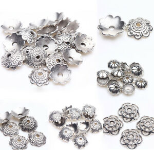 Wholesale Loose Spacer Bead Flower Caps Jewelry Making Finding DIY 3//5//7//12mm