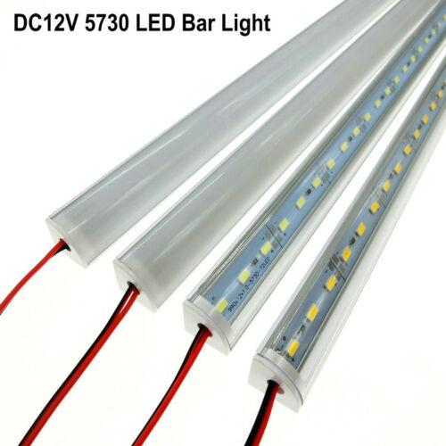 5Pcs//lot Wall Corner LED Bar Light DC 12V 50cm SMD 5730 Rigid LED Strip Light