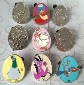 Disney-Birds-2013-Hidden-Mickey-Series-Set-WDW-DLR-Choose-a-Disney-Pin