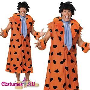 image is loading flintstones fred flint stone licensed costume halloween outfit - Halloween Flintstones