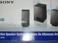 Sony Srsdf30 2.1ch Pc Speakers With Radio: Srs-df30