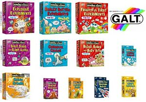 Galt-Toys-Horrible-Science-Experiments-Lab-Kits-13-Options-to-Choose-FREE-P-amp-P