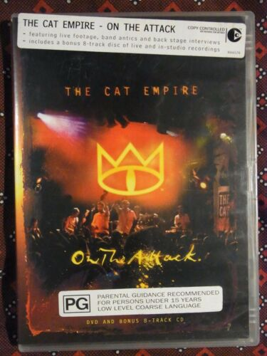 1 of 1 - The Cat Empire - On The Attack (DVD, 2004, Region 4) k4