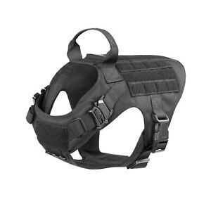 ICEFANG-Tactical-Dog-Harness-K9-Working-Dog-Vest-No-Pulling-Front-Clip-Leash