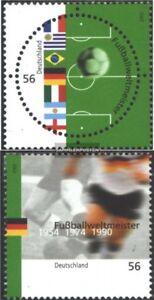 BRD-BR-Deutschland-2258-2259-kompl-Ausg-gestempelt-2002-Fussballweltmeister