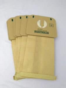 6-Pack-Lot-Style-R-Vacuum-Bags-to-fit-Electrolux-Aerus-Lux-Brown-Paper-Generic
