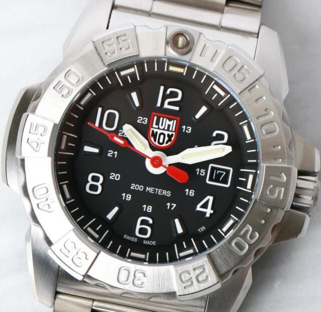cec52aed36ee Luminox XS.3252 Navy Seal Steel 3250 Series 45mm Stainless Steel Men s Watch
