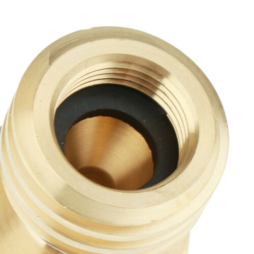 Brass LP Gas Bottle Propane Tank Adapter Converter for Disposable Cylinder