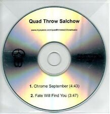 (AB403) Quad Throw Salchow, Chrome September - DJ CD
