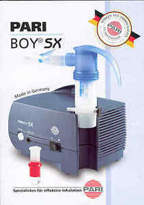 Pari-Boy-SX-Inhalationsgeraet-PZN-1084424-Pari-Top-Modell-neu-amp-OVP-v-med-FH