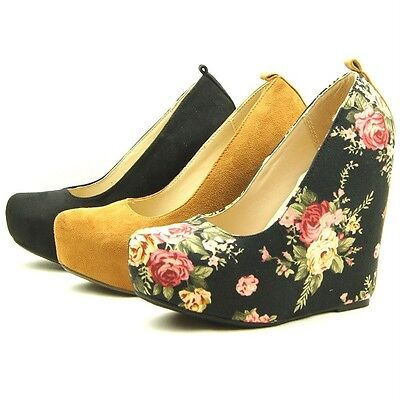 "5"" Hidden Wedge Women's Shoes, Platforms, Pumps 5.5-11US/36-42EU/3.5-9AU"