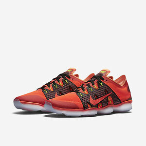 eedaa64ac1a4 Nike Air Zoom Fit Agility 2 Womens Training Shoes Orange Sunset Glow ...